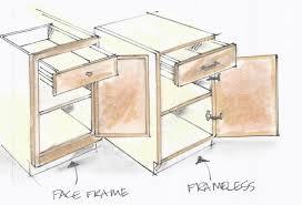 full overlay face frame cabinets full overlay frameless cabinets google search framed vs