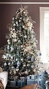 Christmas Tree With Blue Decorations - blue chr stmas blue christmas pinterest christmas