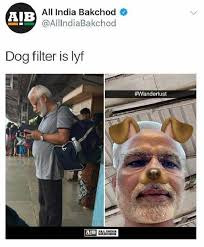 Derek Meme - after modi s dog filter meme derek o brien tharoor don it to