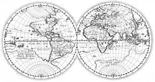 Longitude And Latitude World Map by Old World Maps Black And White Wiring Free Printable Images