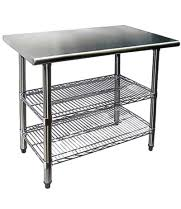 Stainless Kitchen Work Table by Stainless Steel Work Tables Commercial Work Tables Elite