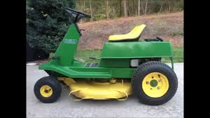 1974 john deere lawn mower model 56 youtube