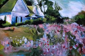 flower house flower house painting by jr gholson