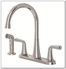 moen commercial two handle kitchen faucet with side spray chrome moen two handle kitchen faucet