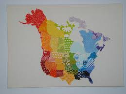 map quilt just crafty enough quilt of the day map quilts