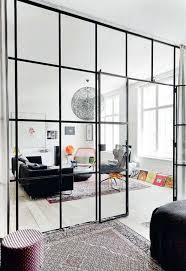 Industrial Room Dividers Partitions - cómo adaptar el estilo industrial a casa glass room room and glass
