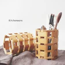 Bamboo Utensil Holder Compare Prices On Utensil Jar Online Shopping Buy Low Price