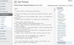 wordpress theme editor gone what is theme editor in wordpress