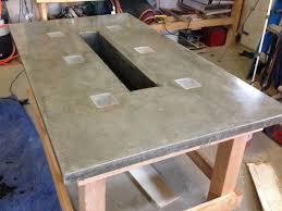 Concrete Patio Table Concrete Outdoors Ideas An Outdoors Project Concrete