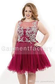 red prom dresses for plus size best dressed
