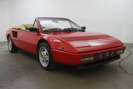 convertible ferrari 1988 ferrari mondial convertible beverly hills car club