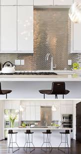 Kitchen Tiled Splashback Ideas Stainless Steel Subway Tile Kitchen Backsplash Curag