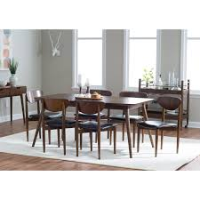 belham living carter mid century modern dining table hayneedle