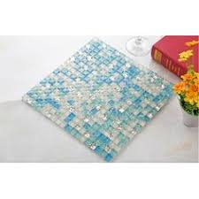 Glass Tile Bathroom Backsplash by Plated Mosaic Glass Tiles Backsplash Ideas Bathroom Wall Shower