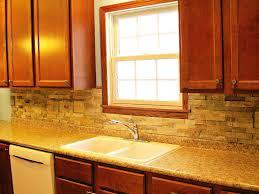 Cheap Kitchen Backsplash Ideas Kitchen Backsplash With Oak Cabinets Gramp Us