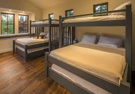 Custom Bunk Beds Perpendicular Cape Cod Twin Over King Over Queen - Twin over queen bunk bed