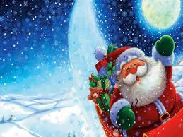 merry backgrounds free free merry santa