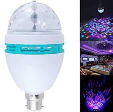 Disco Light Bulb New World Of Gadgets Disco Multi Colour Rotating Led Light Bulb