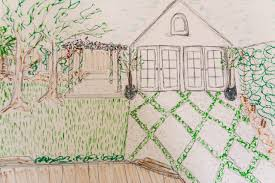 100 drawing of a house with garage how to draw two point
