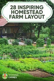 self sustaining garden 28 farm layout design ideas to inspire your homestead dream