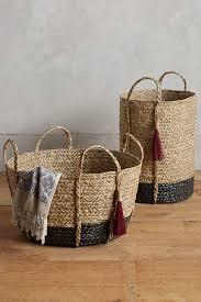 balinese tassel basket anthropologie