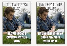 Director Meme - junior art director meme meet junior copywriter meme meet
