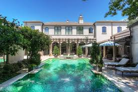 santa barbara style home in fort worth is a one of a kind masterpiece
