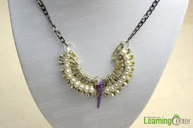 customize your own necklace how to design your own jewelry a cool necklace out of pearl and