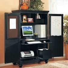 Laptop Armoire Desk Desk Armoire Black Diy Glass Laptop Table Workstation Corner