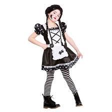 nickelodeon halloween costume party girls broken doll fancy dress party halloween costume