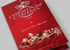 christmas concert program template christmas cantata brochure template godserv market