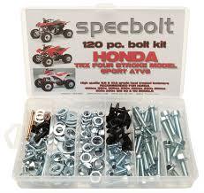 120pc specbolt honda 400ex 250ex bolt kit for maintenance