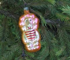 king animal tree vintage ornament handmade