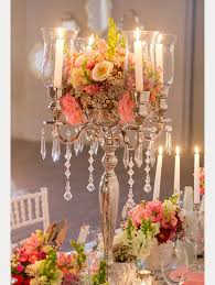 floral centerpieces 15 candelabra floral centerpieces mon cheri bridals
