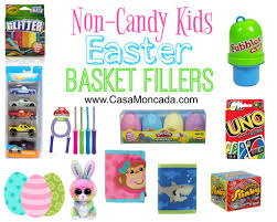 basket fillers non candy kids easter basket fillers casa moncada