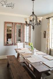 Dining Room Mirrors Diy Rustic Full Length Mirrors Shanty 2 Chic