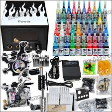 tattoo kit without machine buy complete tattoo kit 2 machines gun 40 color inks power supply