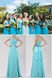 bridesmaid dresses by color teal