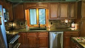 kitchen backsplash ideas beautiful designs made easy add to your kitchen design with the look of stacked stone as a backsplash