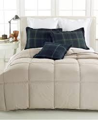 Ralph Lauren Comforter Set Lauren Ralph Lauren Color Down Alternative Full Queen Flannel Grey