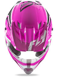 motocross helmets kids fly racing pink black white 2016 kinetic fullspeed kids mx helmet