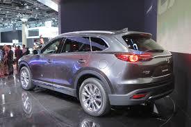 mazda all motors 2016 mazda cx 9 bows in la with new styling turbocharged engine