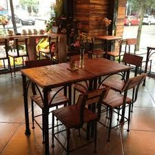 wood and wrought iron table country wood dining tables and chairs wrought iron tables and chairs