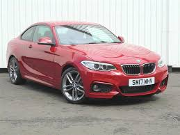 red bmw 2017 used 2017 bmw 2 series f22 218d m sport coupe b47 2 0d for sale in