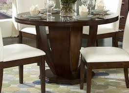 Round Dining Room Table Sets Dining Tables Outstanding Solid Wood Round Dining Table With Leaf