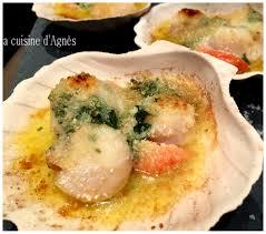 cuisiner noix st jacques lacuisinedagnes com coquilles jacques gratinees au fourla