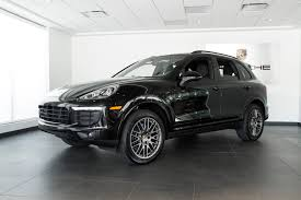 porsche hatchback black 2017 porsche cayenne platinum edition for sale in colorado springs