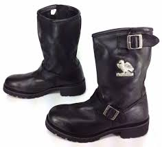 motorcycle shoes for sale fab find men u0027s black talon black leather motorcycle biker boots 2