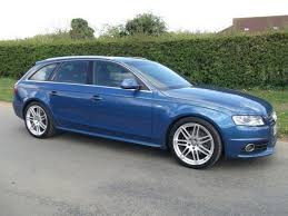 audi a4 estate used 2009 audi a4 estate blue edition 2 0 tdi 143 s diesel for