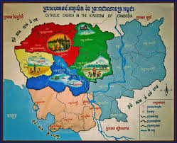 Map Of Cambodia File Map Of Catholic Prefectures In Cambodia Jpg Wikimedia Commons
